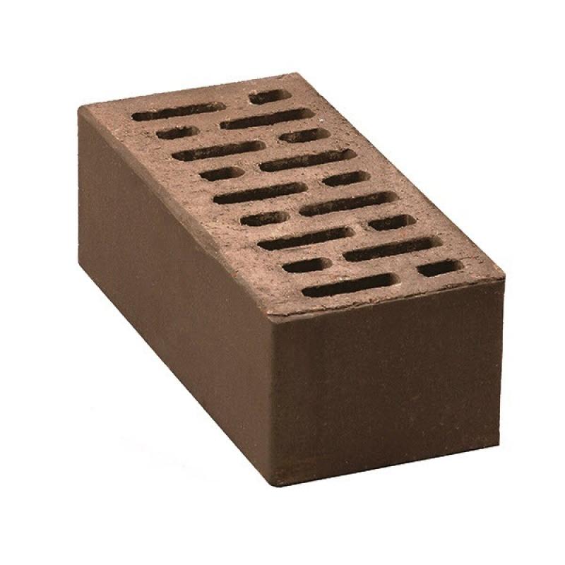 """Кирпич керамический пустотелый утолщенный  """"коричневый"""" М 100-150 (250*120*88)"""
