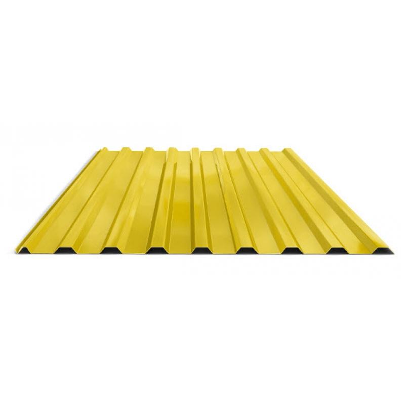 Профнастил  СП20 RAL 1028 Желтый  1100/1150