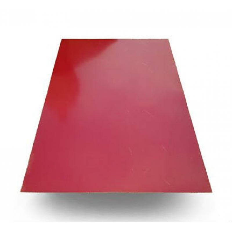 Лист плоский RAL 3005 Красное вино  1250