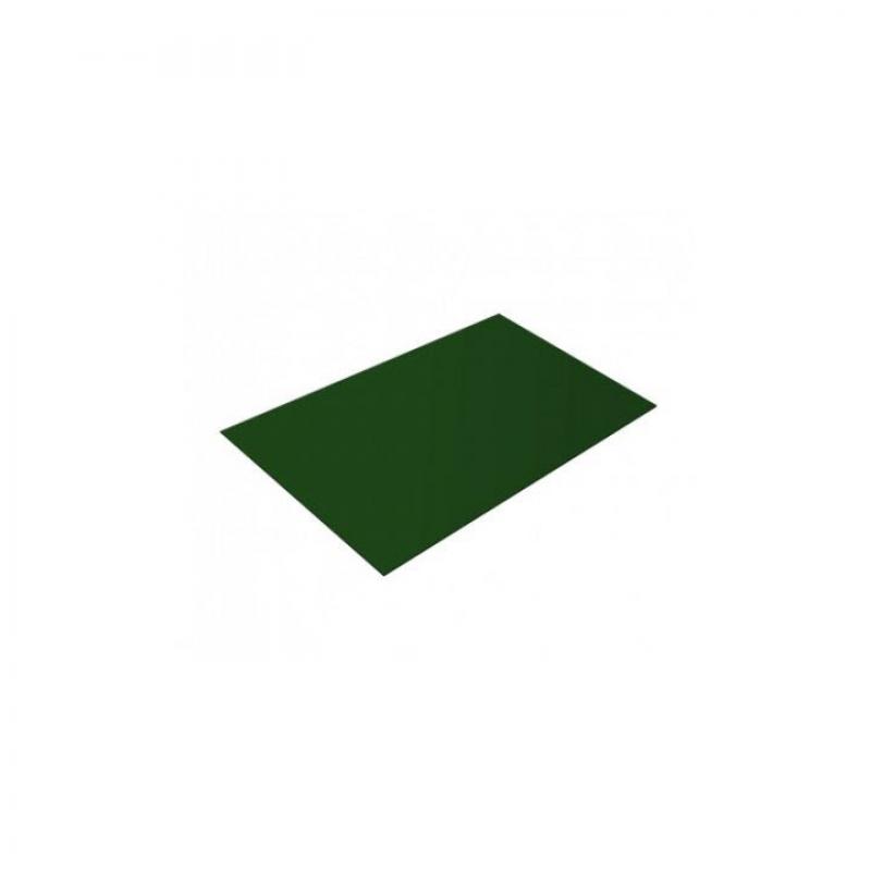 Лист плоский RAL 6002 Зеленый  1250