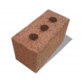 Кирпич керамический полнотелый двойной  с тех. пустотами (13%) (250*120*140)