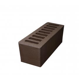 """Кирпич керамический пустотелый   с гладкой поверхностью  """"мокко"""" М 125-150 (Евро) (250*85*65)"""
