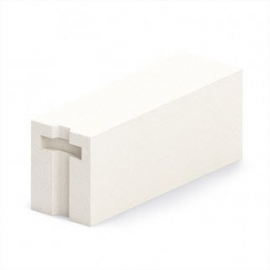 Блок газобетонный стеновой БП 200 5п D 500 B 2,5 (625*200*250)