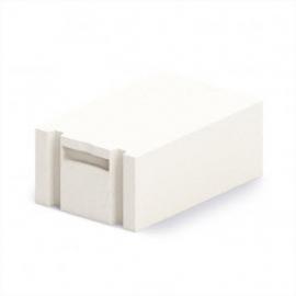 Блок газобетонный стеновой БП 400 6п D 600 B 2,5 (625*400*250)