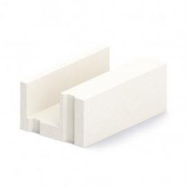 Блок газобетонный лотковый БПU 400 5п D 500 B 2,5 (625*400*250)