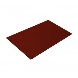 Лист плоский RAL 3009 Оксидно-красный  1250