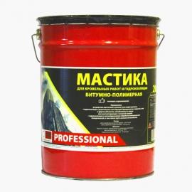 Мастика битумно-полимерная СТН Professional  ведро 20кг