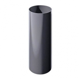ТН ПВХ труба, серый, глянец, 3м